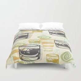 Dad Is Home 1954 Duvet Cover