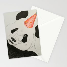 Peter the Party Panda Stationery Cards
