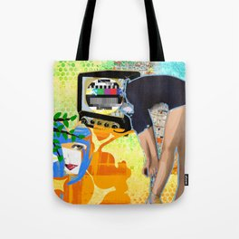 Perception (On & Off) Tote Bag