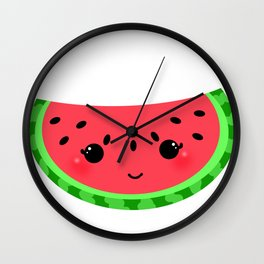 Watermelon Wall Clock