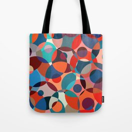 Crowded place Tote Bag