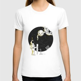 Mining in Space T-shirt