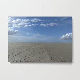 The Sandbar Metal Print