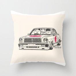 Crazy Car Art 0181 Throw Pillow