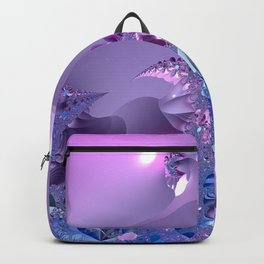 Stormy fractal waters and the lighthouse Backpack