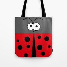 Minimal Ladybird Tote Bag