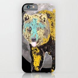 Bear spirit iPhone Case