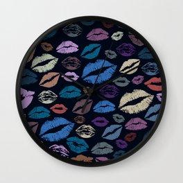 Lips 20 Wall Clock
