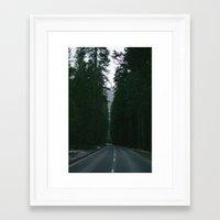 yosemite Framed Art Prints featuring Yosemite  by Andre Elliott