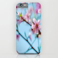 Pink on Blue Slim Case iPhone 6s