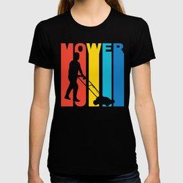 Retro 1970's Style Lawnmower T-shirt