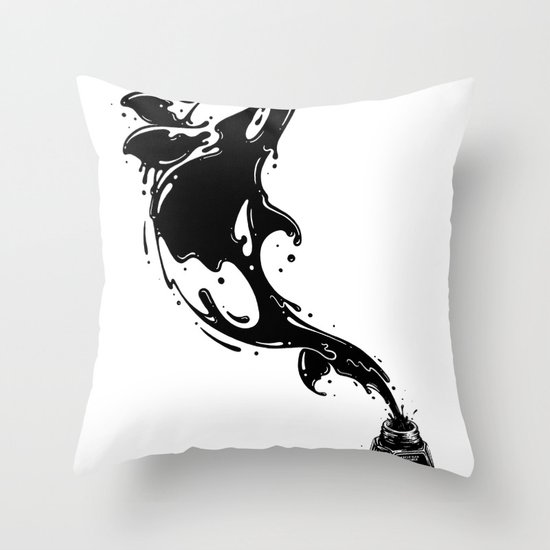 Great Leap Throw Pillow
