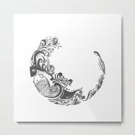 Koi Wreath Metal Print