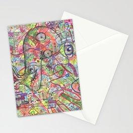 Basura Cerebro Stationery Cards