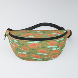 Spring Floral II Fanny Pack