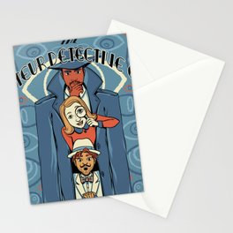 Amateur Detective Club Stationery Cards