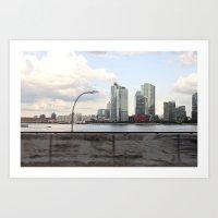 New York/Pepsi/River/Driving Art Print
