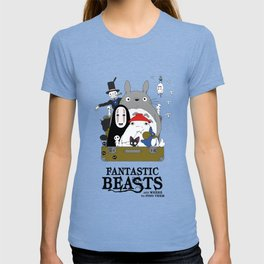 Fantastic Ghibli and where to find them! T-shirt