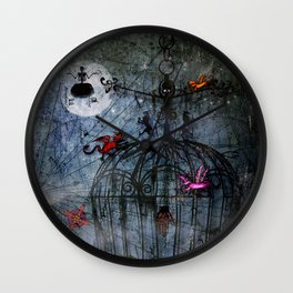 The Cage IV - Abandoned Wall Clock