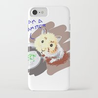 hamster iPhone & iPod Cases featuring Hamster by wingnang