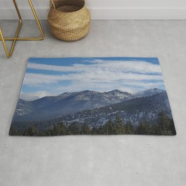The Mountains of Lake Tahoe Rug