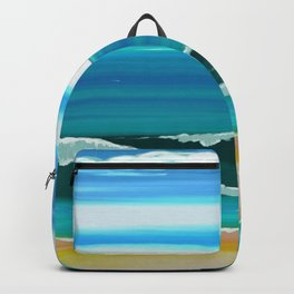 Ocean Waves Backpack