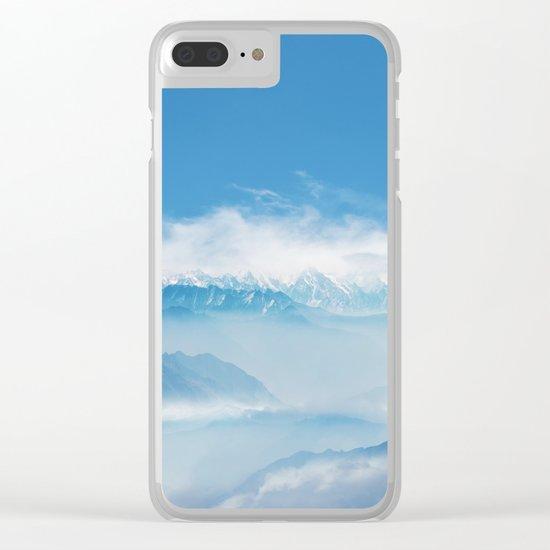 Magic in the Clouds II Clear iPhone Case