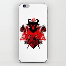 blackmagic.red iPhone & iPod Skin