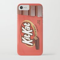 kit king iPhone & iPod Cases featuring Kit Kat by Cloz000
