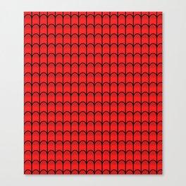 Red Webbing - Spider-Man (Vert.) Canvas Print