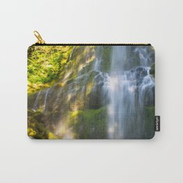 Proxy Falls 2 - Waterfall In Oregon Carry-All Pouch