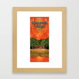 Kawartha on the Lakes Framed Art Print