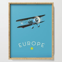 Europe Serving Tray