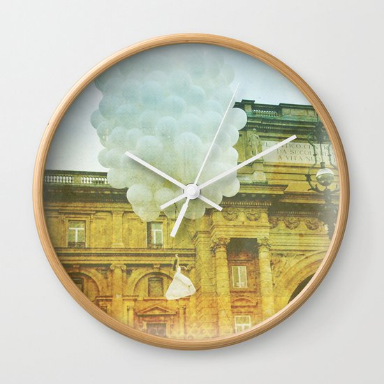 US AND THEM _ leaving them Wall Clock