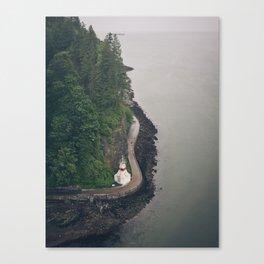 Stanley Park, Vancouver  Canvas Print