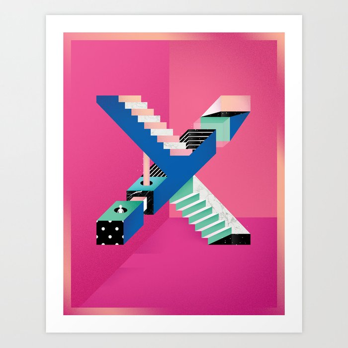 Impossible X Art Print