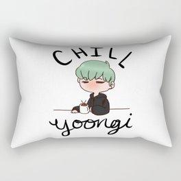 Chill Min Yoongi Rectangular Pillow