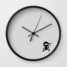 Mini Ninja Wall Clock