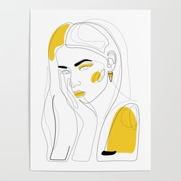 In Gold Poster