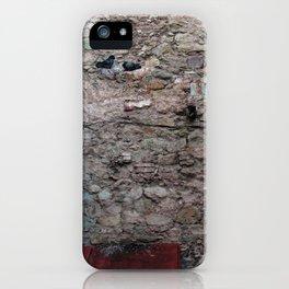 El origen de un encuentro iPhone Case