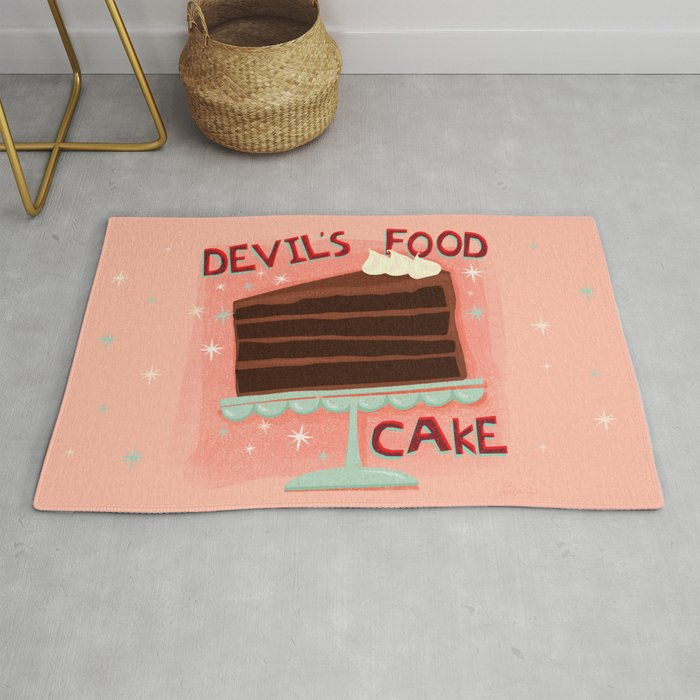 Devil's Food Cake An All American Classic Dessert Rug