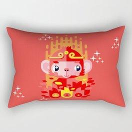 Fire Monkey Year Rectangular Pillow
