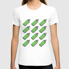 Spraycan pattern T-shirt