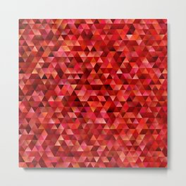 Bloody triangles Metal Print