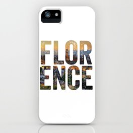 Florence City iPhone Case