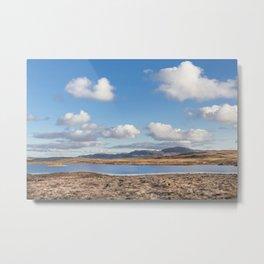 Highland Skies Metal Print
