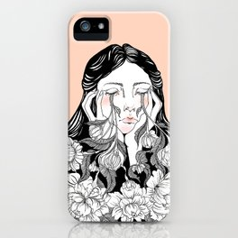cry me a garden iPhone Case