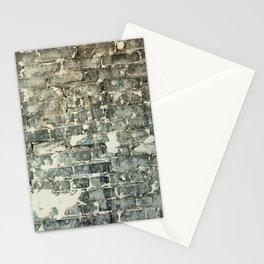 Gray Brick Wall Stationery Cards