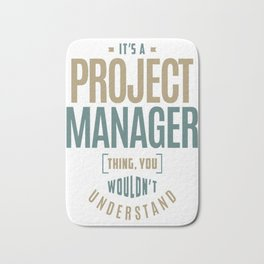 Project-Manager-Thing Bath Mat