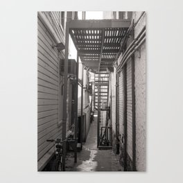 Places that are overlooked Canvas Print